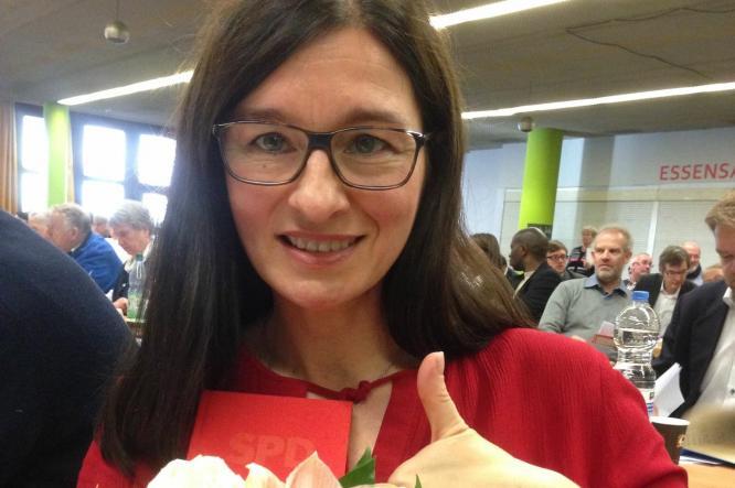 Los geht's: Nominiert für den Abgeordnetenhauswahlkreis 1 Mitte: Astrid Hollmann